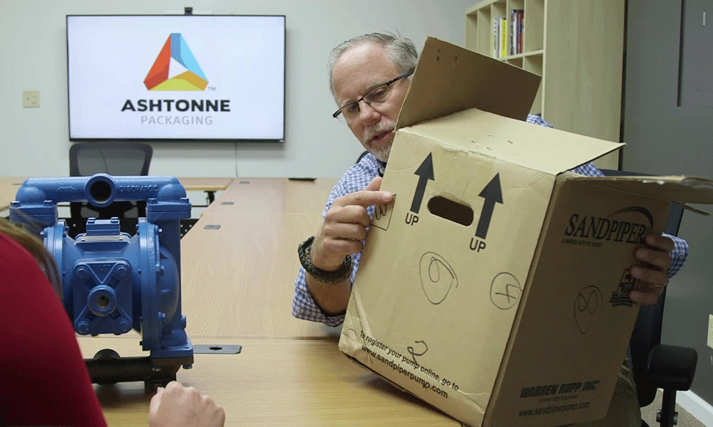 Product Packaging protection-  Audit with Ashtonne Packaging
