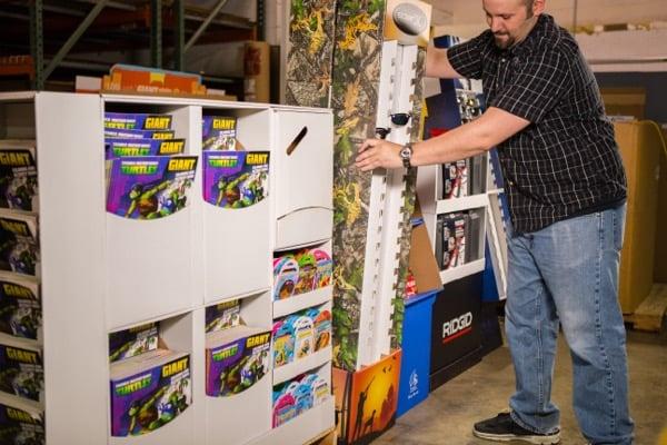 Custom designed packaging, custom boxes, custom packaging, POINT OF PURCHASE DISPLAYS