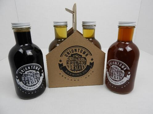 Uniontown, beer, packaging, ashland, ohio, ashtonne packaging