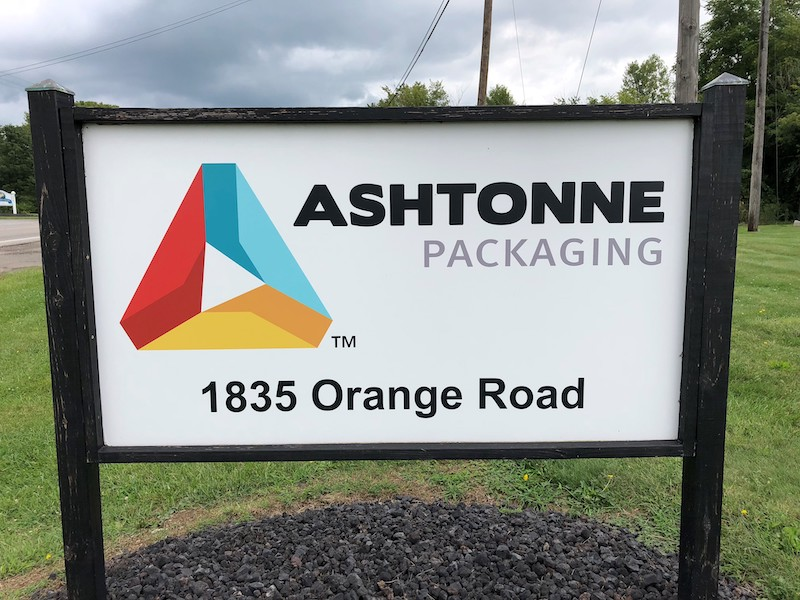 Street sign for custom boxes, creative packaging and custom packaging