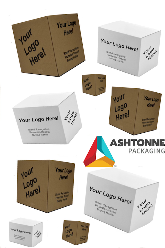 Custom printed stock boxes and creative packaging from a packaging company
