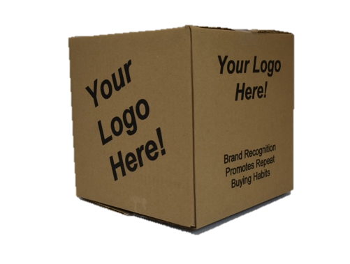 Custom designed corrugated and branded packaging