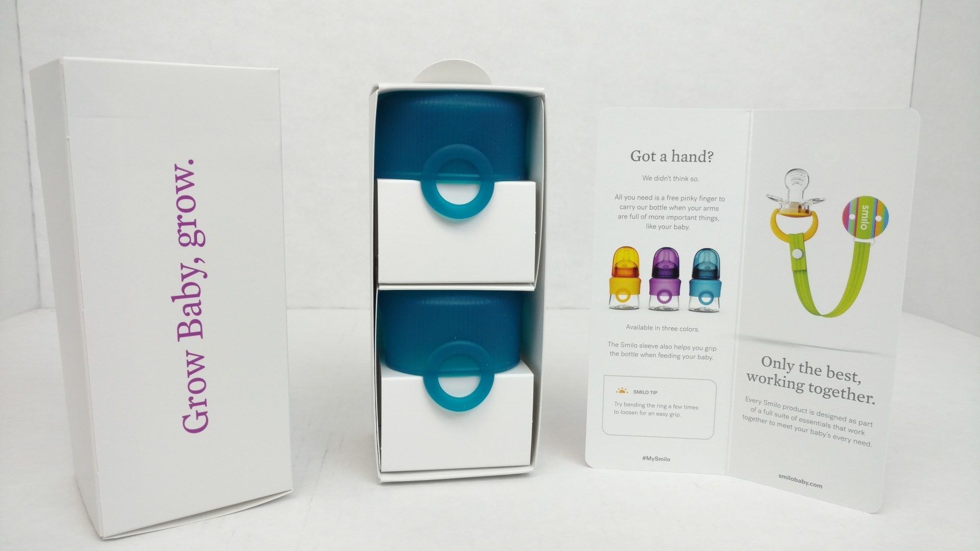 Smilo Grow Baby Grow- custom designed packaging and displays for eCommerce